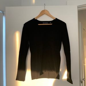 525 America Black V-neck Sweater